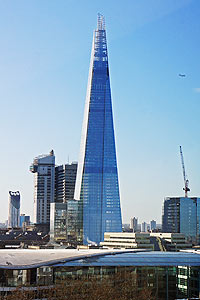 le gratte-ciel the shard a londres
